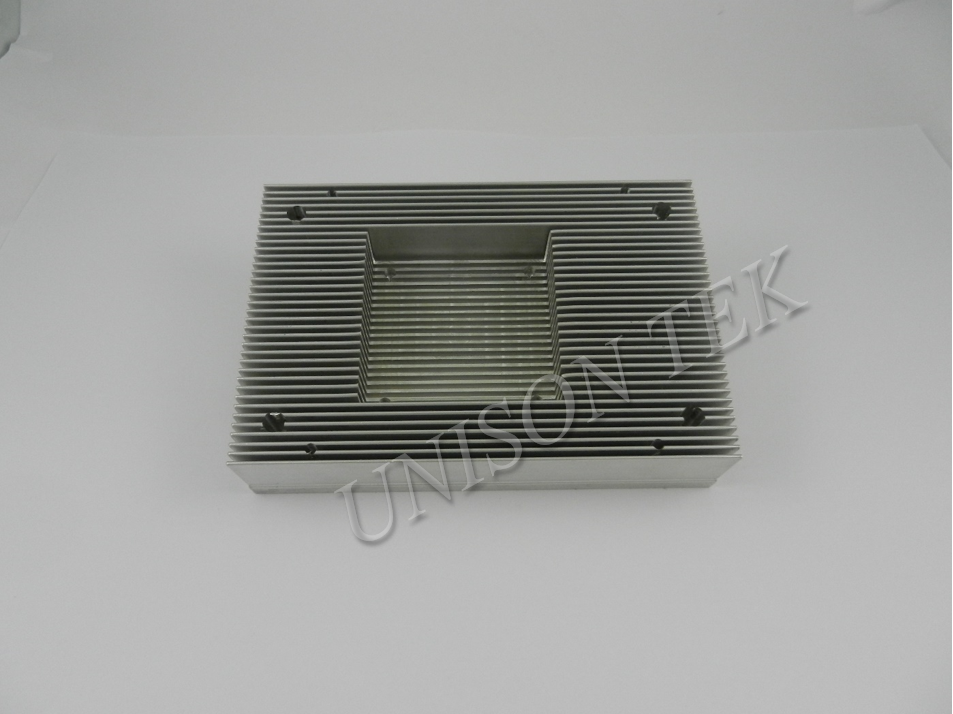 Aluminum Extrusion Heatsink CNC ISO Certified machine shop in Taiwan OEM ODM customize