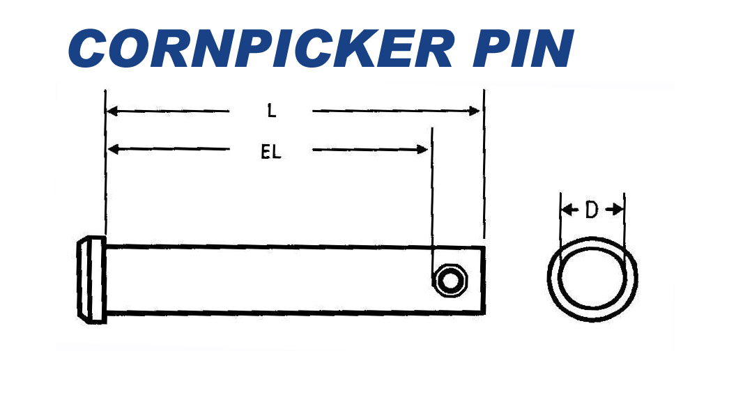 Cornpicker Pins
