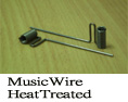 Music Wire Heat Treated