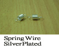 Spring Wire Silver plated picture 2