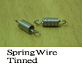 Spring Wire Tinned