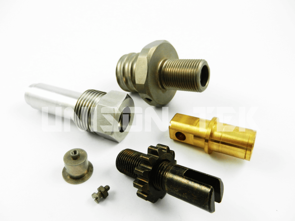 machined turning parts from unisontek